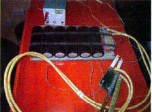 Точечная сварка из конденсаторов