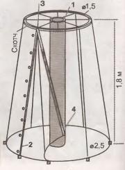 Парник-шатер