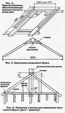 Крыша —  пленочная, бока — стеклянные.
