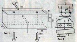 Установка магнитной защелки