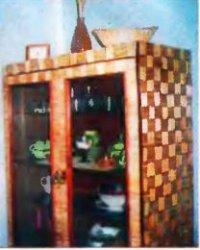 Старому шкафу — соломенную обновку