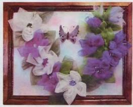 Цветы из сетки для цветов своими руками