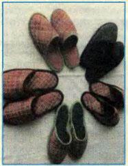 Шьем теплые тапочки