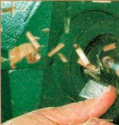 Как избежать стружки надлома