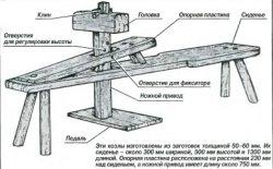 Мебель из... полена, или  по стопам Папы Карло