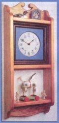 Часы в сельском  стиле