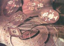 Реставрация узоров из шпона