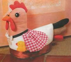 «Курица»  под дверью