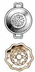 Лепка декоративного блюдца  на гончарном круге