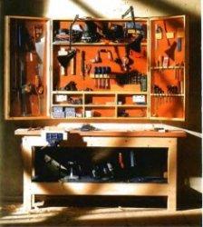 Шкафчик  для инструментов