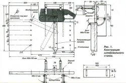 Шлифовальный станок на базе ленточной машинки