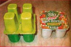 Куда применить пустые стаканчики из-под йогурта