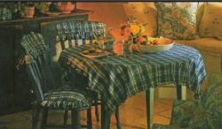 Чехол с рюшами для спики стула