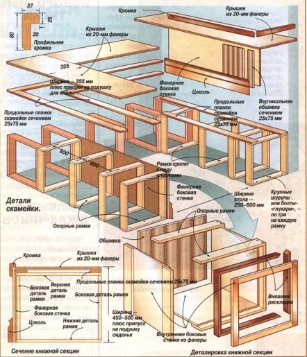 Лестницы на 2 этаж  чертежи 64