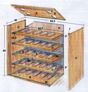 Шкаф Для Вина Своими Руками - Домашняя идея