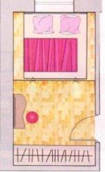 Спальня: выше  уровень