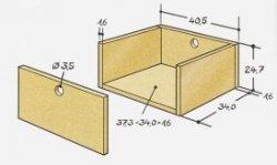 Как сделать передвижной пуф с ящиками из обыкновенного стеллажа