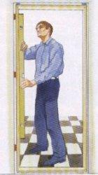 Как устанавливать новую дверь вместе с коробкой