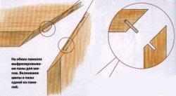 Рабочая поверхность стола с безупречными стыками