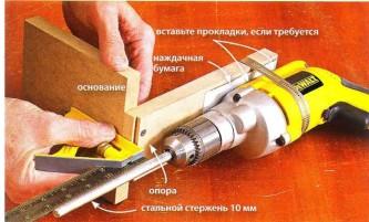 Как сделать станину на дрель