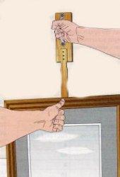 Приспособление для подвешивания картин