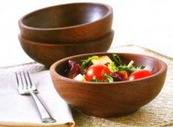 Деревянные салатники