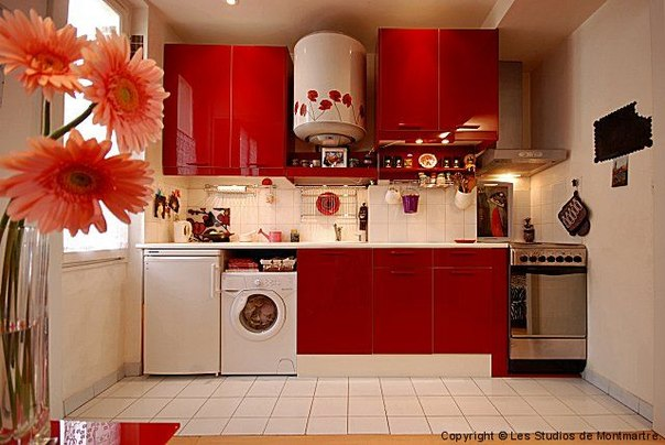93. Идеи для маленькой квартиры, спальни и кухни