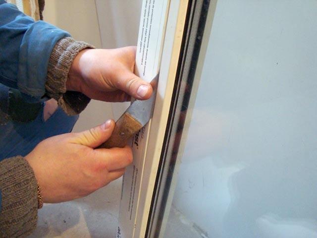 Замена стеклопакета пластиковых окон своими руками