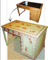 """Новая жизнь """"бабушкиного"""" стола"""