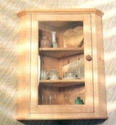 Стилизованный угловой шкафчик