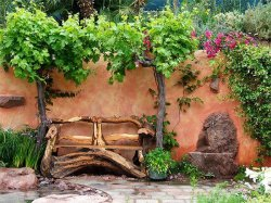 Обустраиваем сад своими руками
