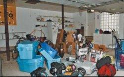 Идеально чистый и функциональный  гараж
