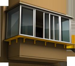 Как сделать собственный вынос на балконе