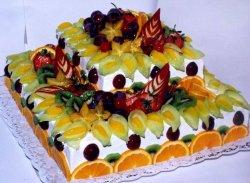 Великолепный торт со сгущенкой ко дню рождения