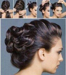 Улаживаем волосы средней длины