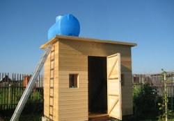 Сами строим летний душ