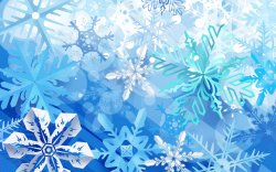 Морозные снежинки на жарком окне