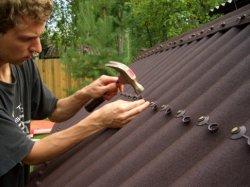 Какие материалы использовать в строительстве крыши для бани