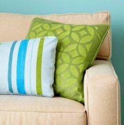 Диванная подушка: как сшить?