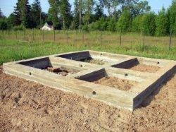 Фундамент для бани сделать своими руками фото 171