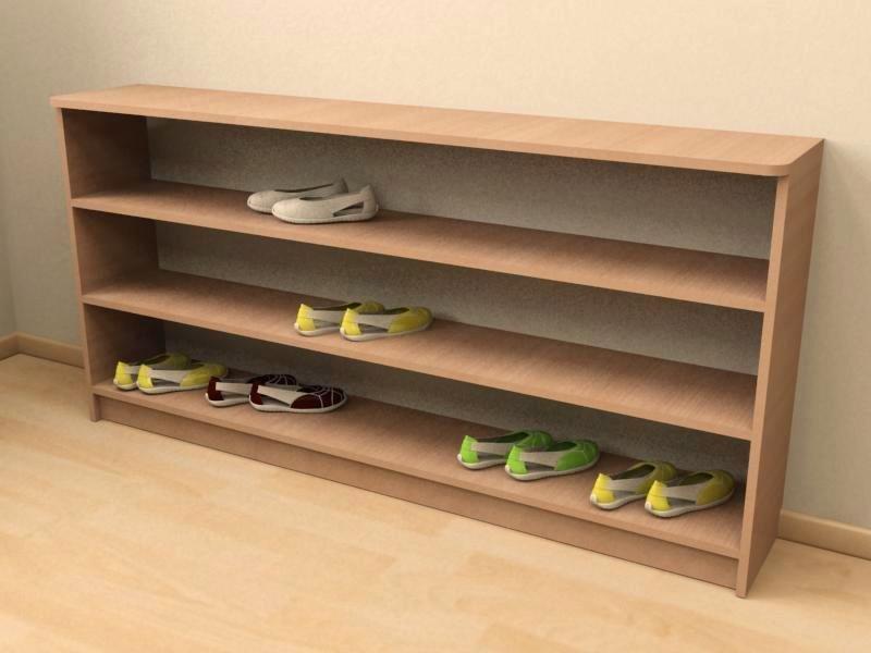 Полка для обуви своими руками фото из дерева
