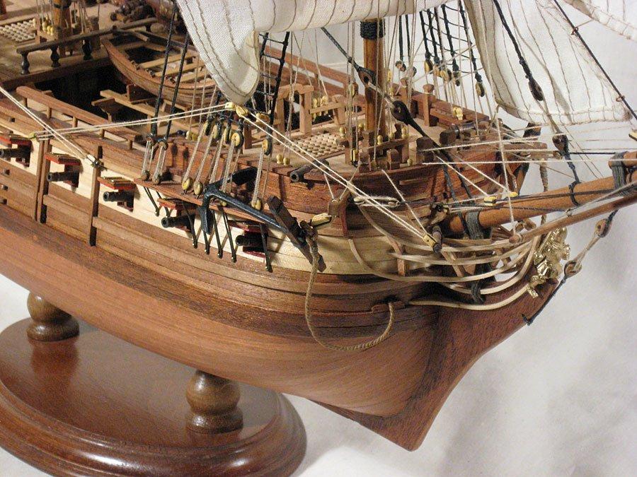 Собрать модель корабля