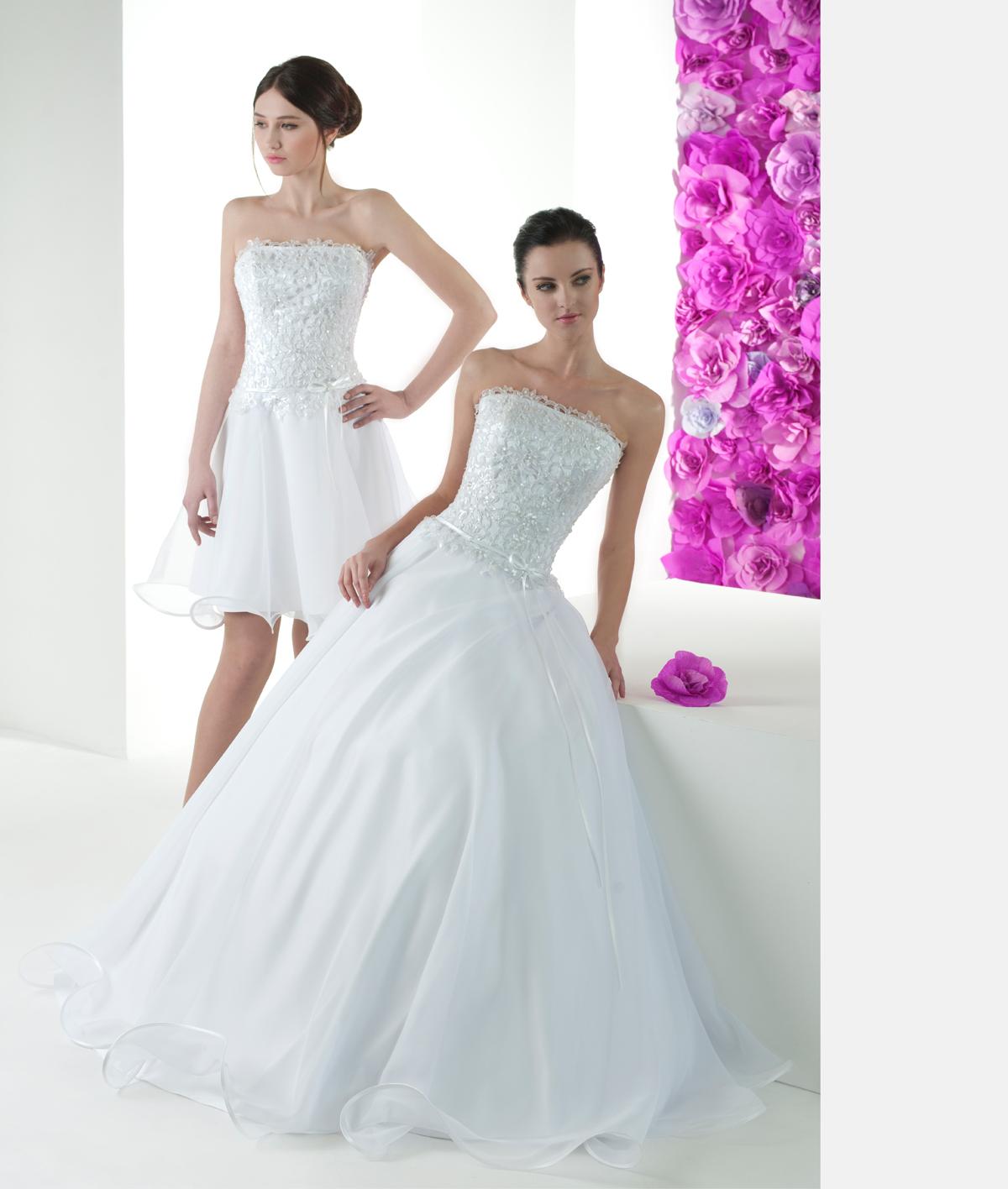 Свадебные платья, длинное и короткое