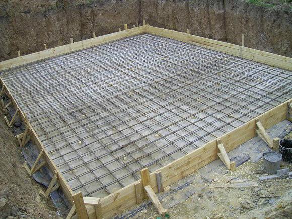 Монолитная плита фундамент цена