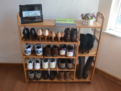 сетчатая полка для обуви   Добавил: higteh