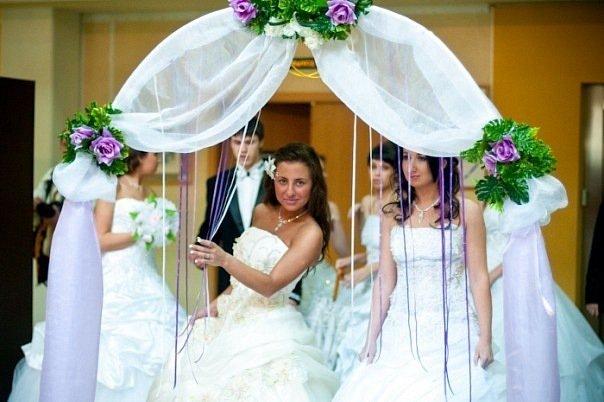 Как самой сделать арку на свадьбу 105