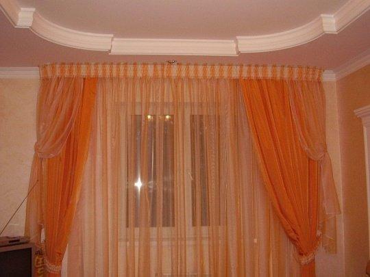 Как самому сшить красивые шторы в