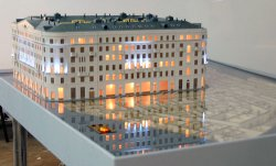 Как сделать макет здания из бумаги