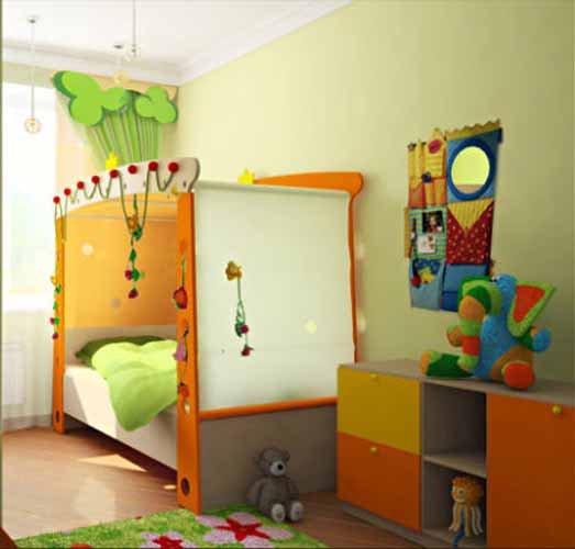 Фото детская комната своими руками