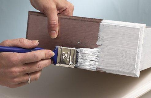 Как покрасить дсп своими руками в белый цвет